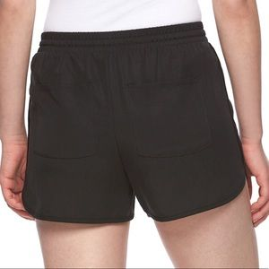Juicy couture pull on black shorts jogger